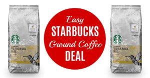 Starbucks Ground Coffee on Amazon