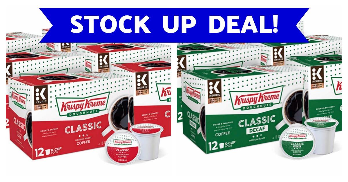 Krispy Kreme Coffee K-Cups coupons