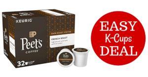 Peet's Coffee Deal on Amazon