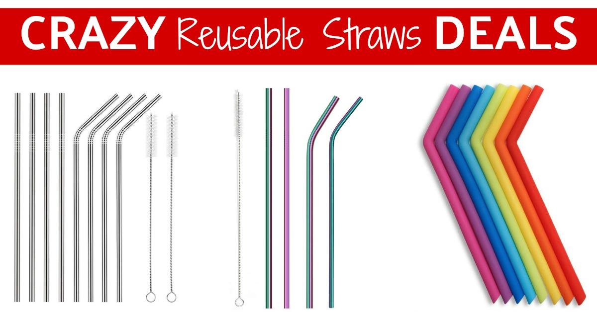 Reusable Straws Deal on Amazon