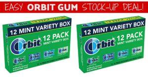 orbit gum variety pack on Amazon