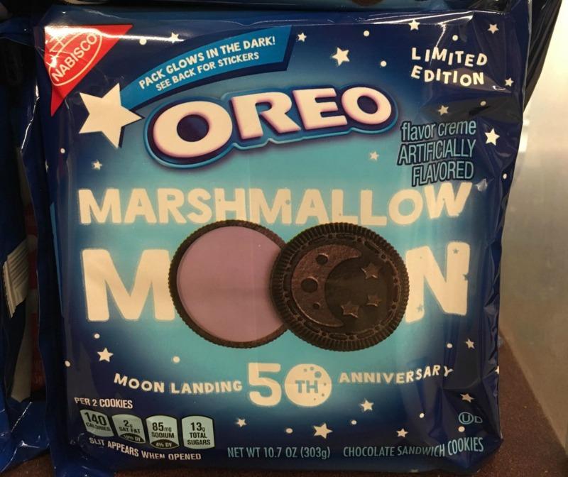 oreo marshmallow moon cookies
