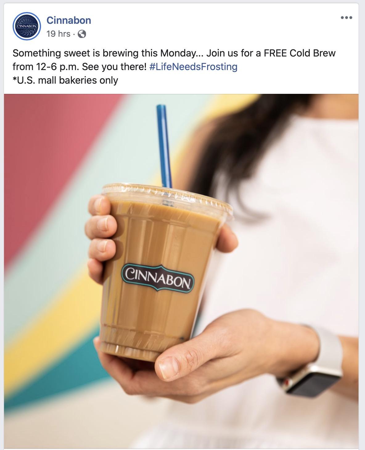 Cinnabon Coffee Coupons Free