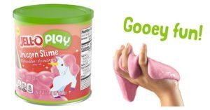 JELL-O Strawberry Unicorn Play Slime