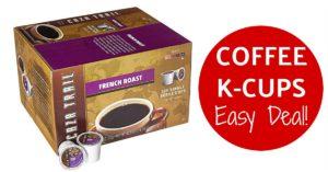Caza Trail Coffee, French Roast, 100 Single Serve Cups on Amazon