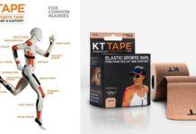 KT TAPE Kinesiology Sports Tape on Amazon