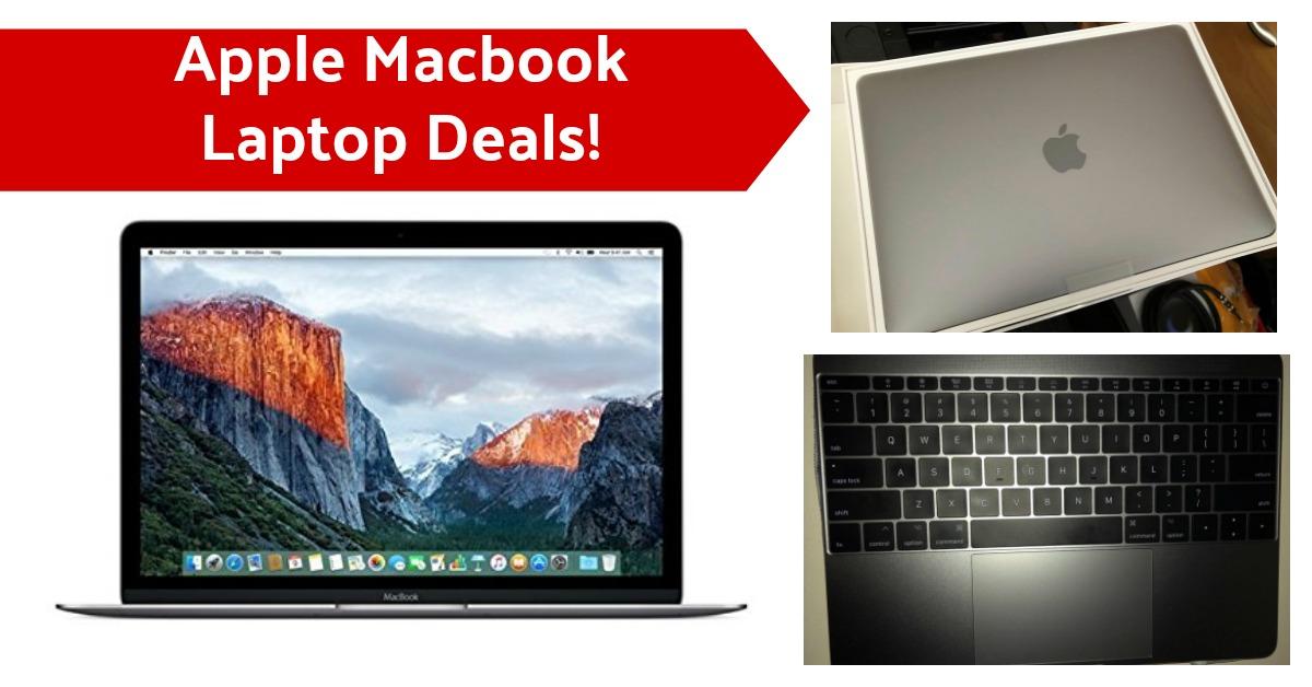 Apple Macbook Laptop Deals on Amazon