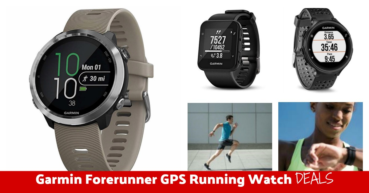 Garmin Forerunner GPS Running Watch Deals