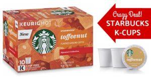 Amazon Starbucks Coffee K-Cups Toffeenut
