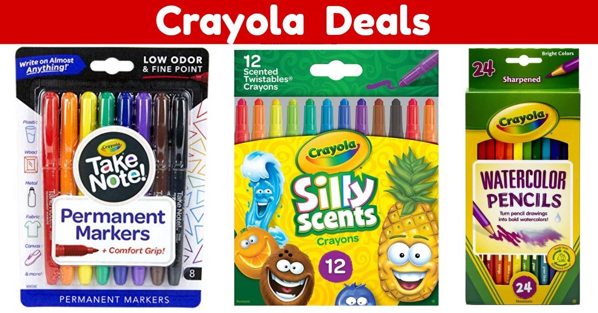 Crayola Deals Art Craft Sets on Amazon