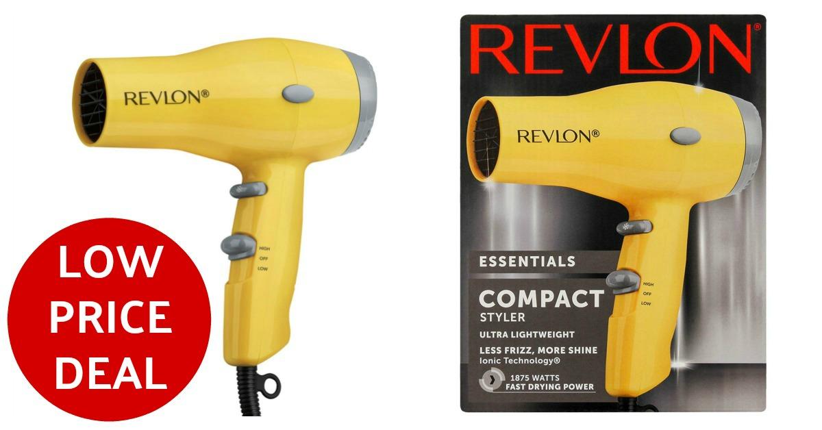 Revlon coupons deal Hair Dryer