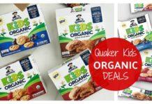 Quaker Kids Organic Whole Grain Bites Bars on Amazon