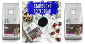 Starbucks Whole Bean Coffee Bag