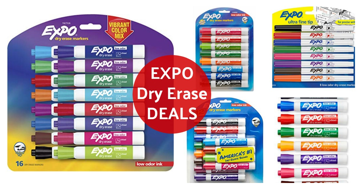 Expo Dry Erase Markers Deals on Amazon