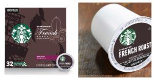 Starbucks French Roast Dark Coffee K-Cups on Amazon