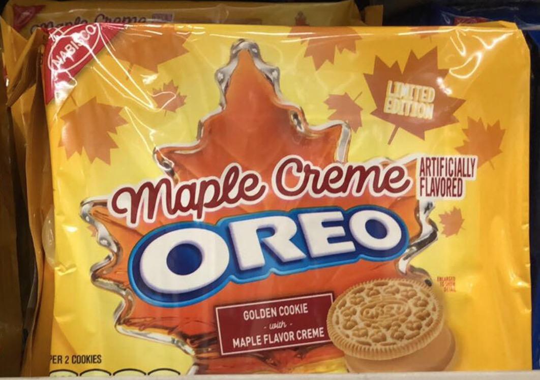 maple creme oreo limited edition
