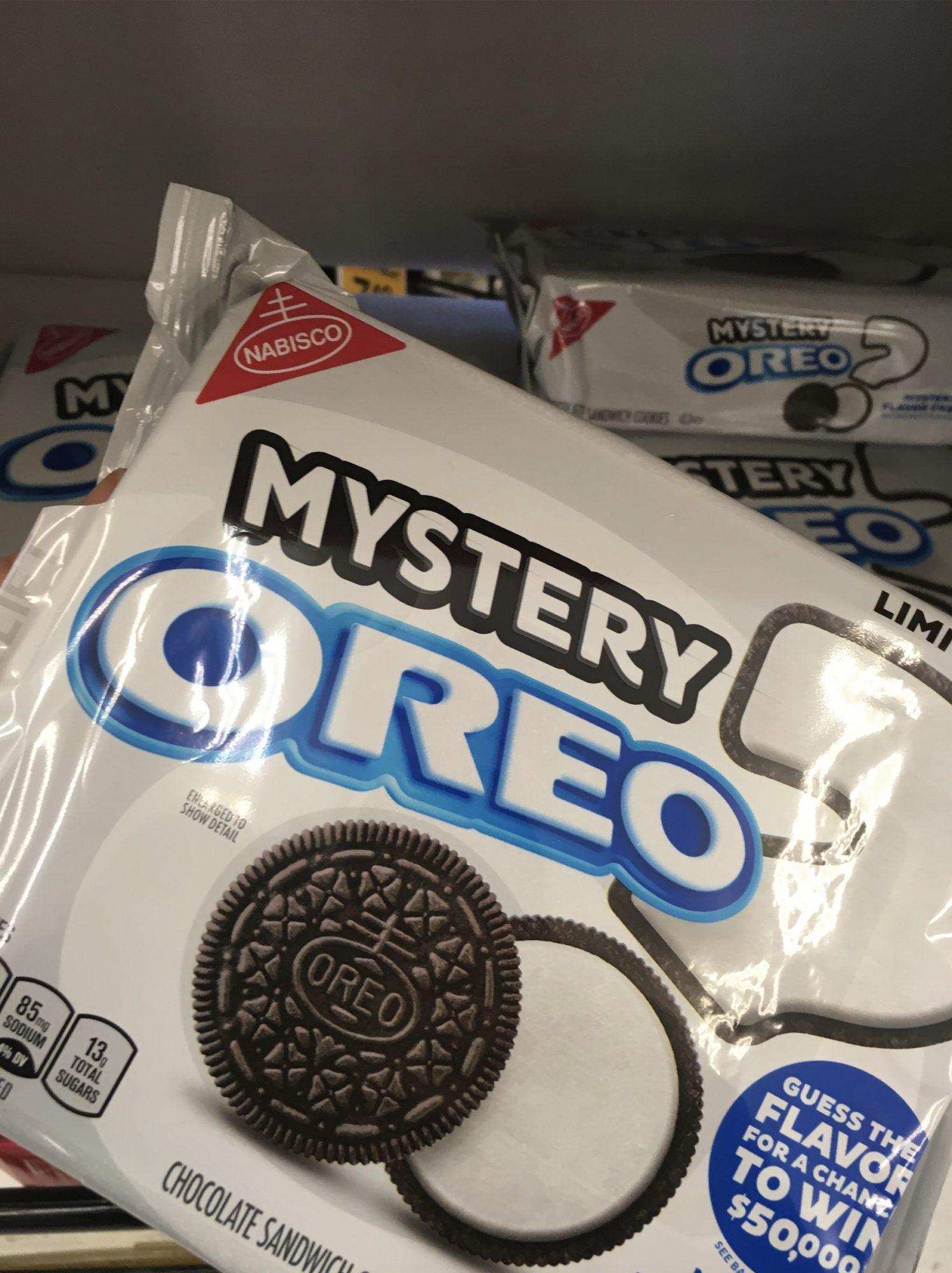 2019 Oreo Mystery Flavor Cookies
