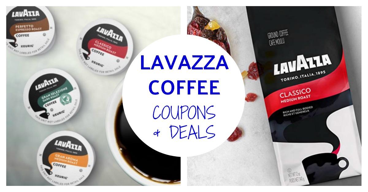 Lavazza Coffee Coupons on Amazon