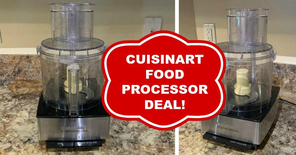 cuisinart food processor deal