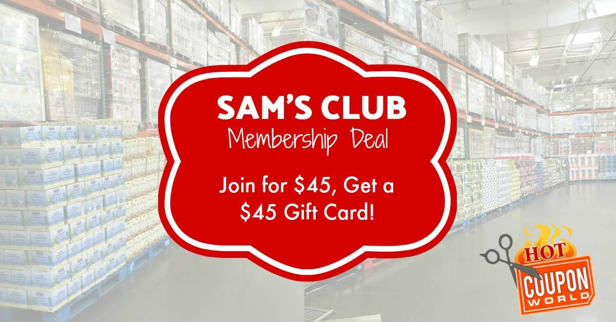 sams club membership promotion