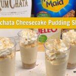 Rumchata Cheesecake Pudding Shots