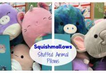 Squishmallows Pillow Stuffed Animals at Kroger Amazon