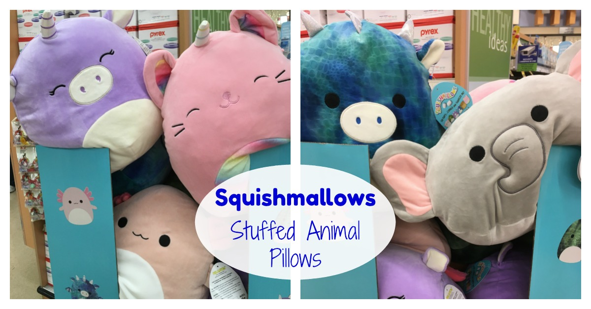 Squishmallows Pillow Stuffed Animals at Kroger Amazon