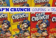 Cap'n Crunch coupons Amazon deal