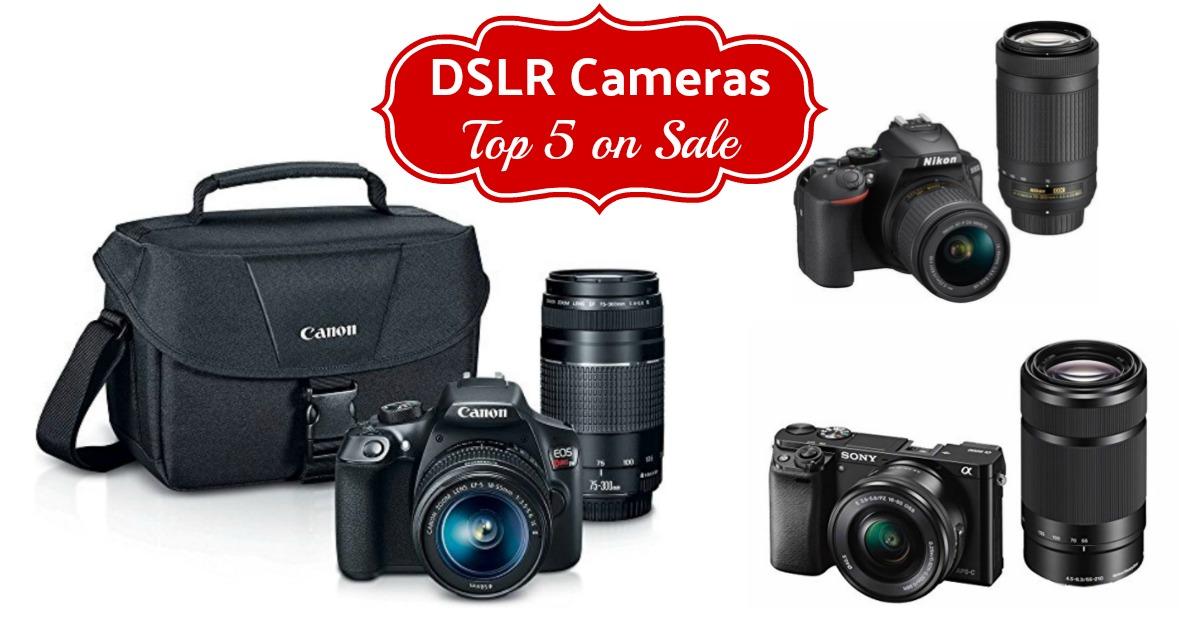 top 5 best Digital Camera Deals on Amazon