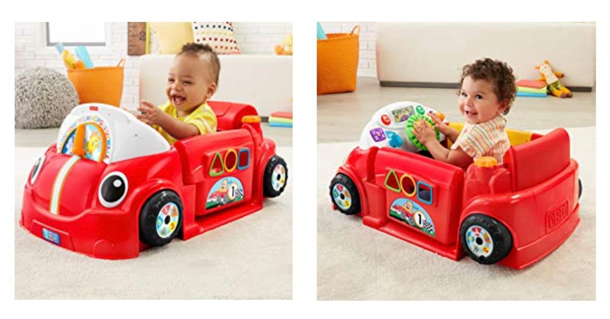 Amazon Fisher-Price Laugh & Learn Crawl Around Car
