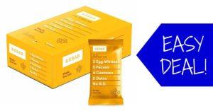 RXBAR protein bar maple sea salt