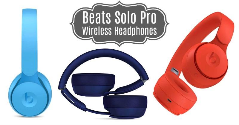 Amazon Beats Solo Pro WirelessNoise Cancelling On-Ear Headphones