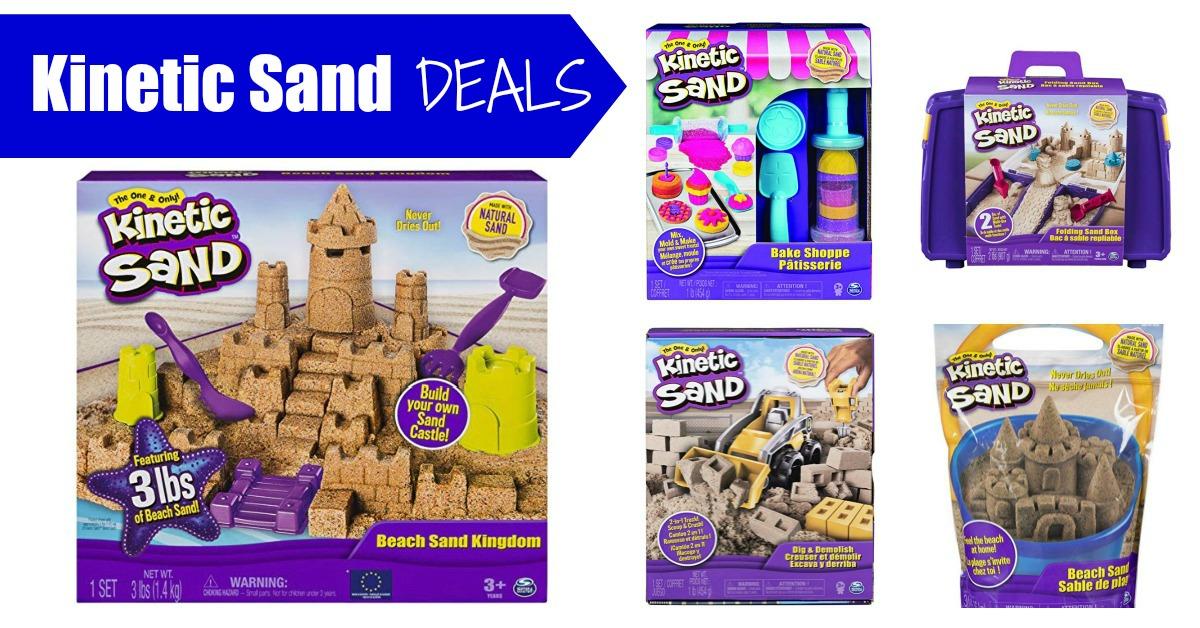 Kinetic Sand Deals folding sandbox