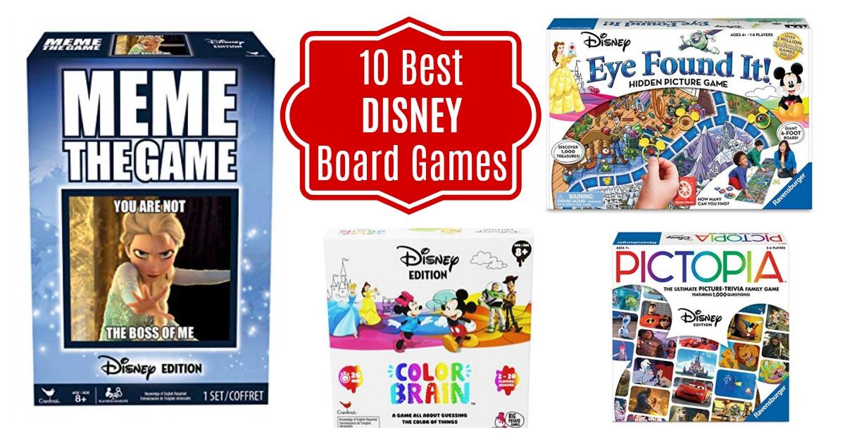 Amazon top 10 Disney Family Board Games
