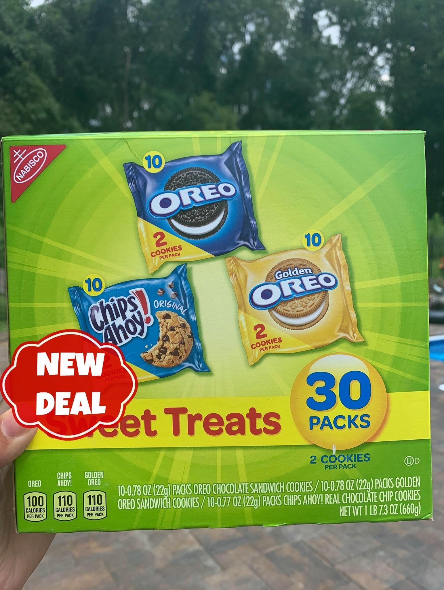 nabisco oreo and chips ahoy treats deal