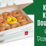 Krispy Kreme doughnuts dozen free 2020
