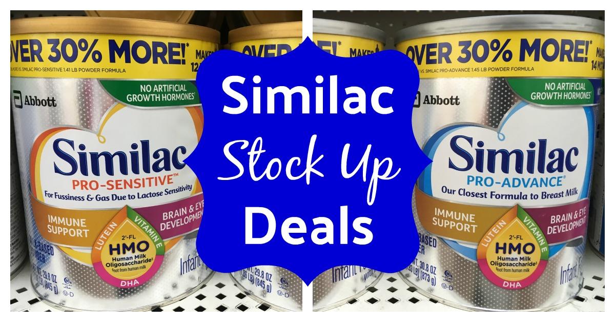 Similac formula coupons
