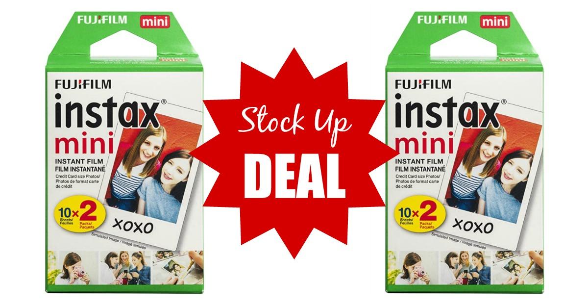 Amazon Fujifilm Instax Mini Film (Instant Camera Film Deal!)