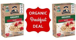 quaker organic oatmeal coupons