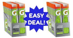 Gatorade Energy Chews coupons