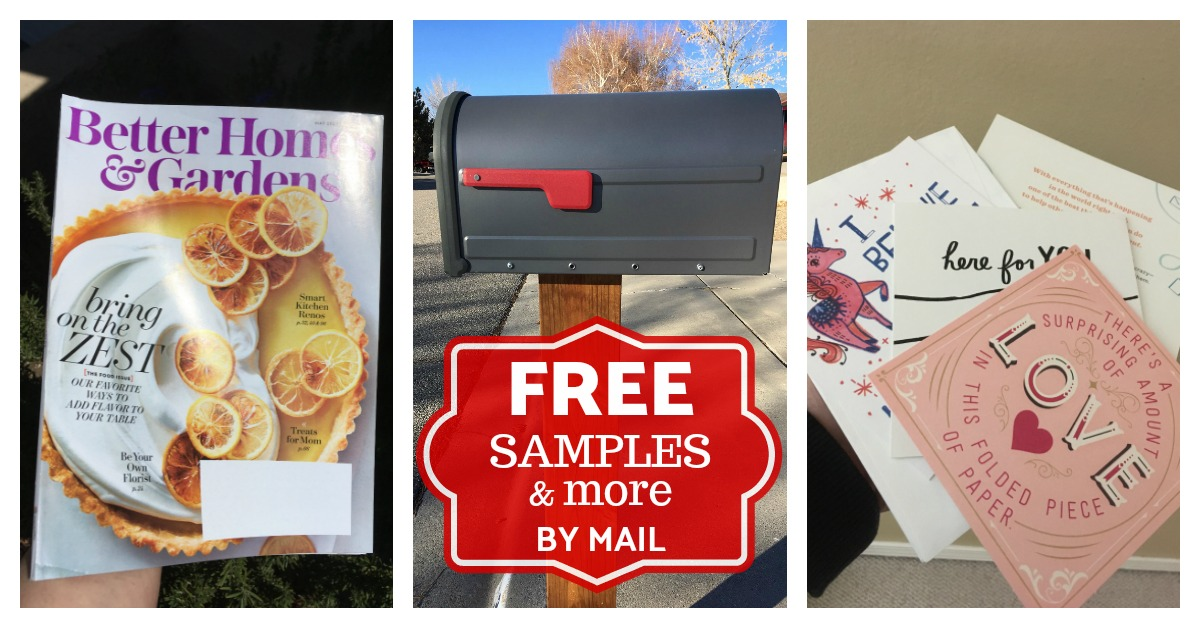 Free Samples Stuff by Mail List magazines