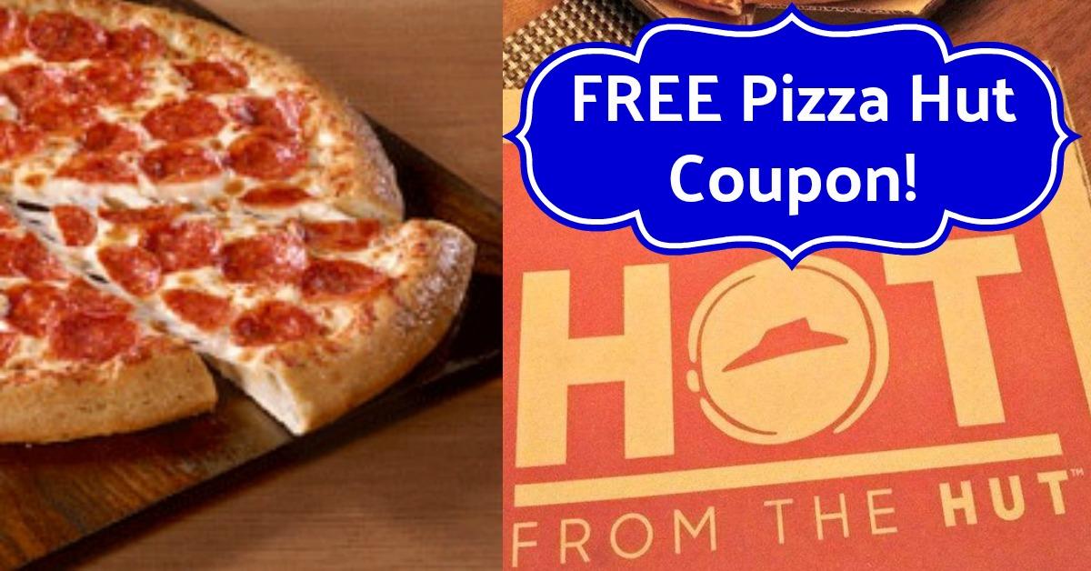 Free medium pizza Pizza Hut Coupon Code