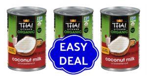 Thai kitchen coconut milk coupons