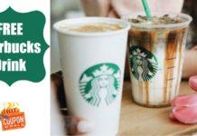 free Starbucks drink app