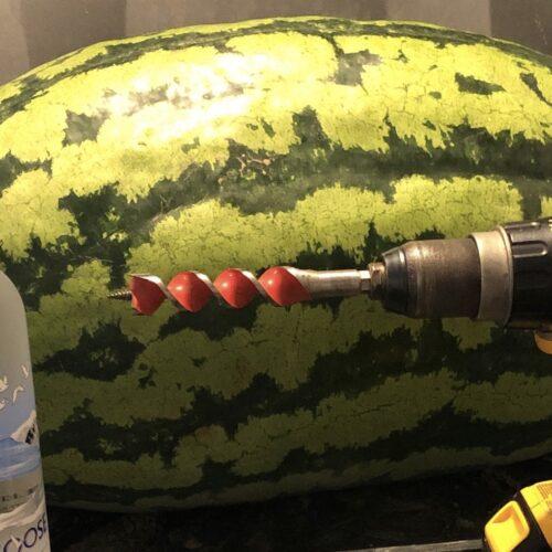 Vodka Infused Watermelon