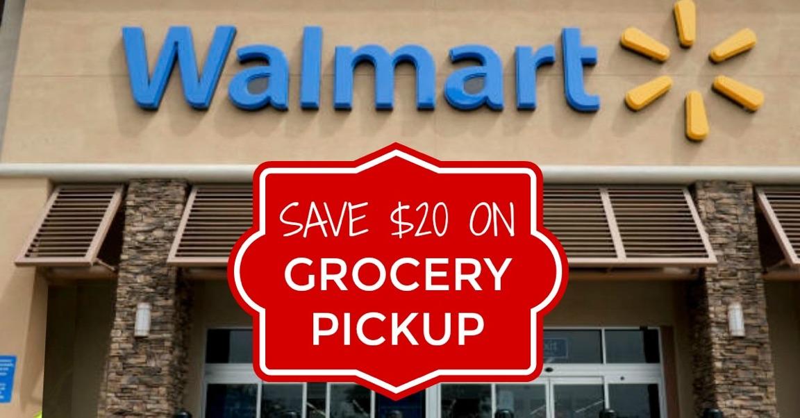 Walmart Grocery Pickup coupons