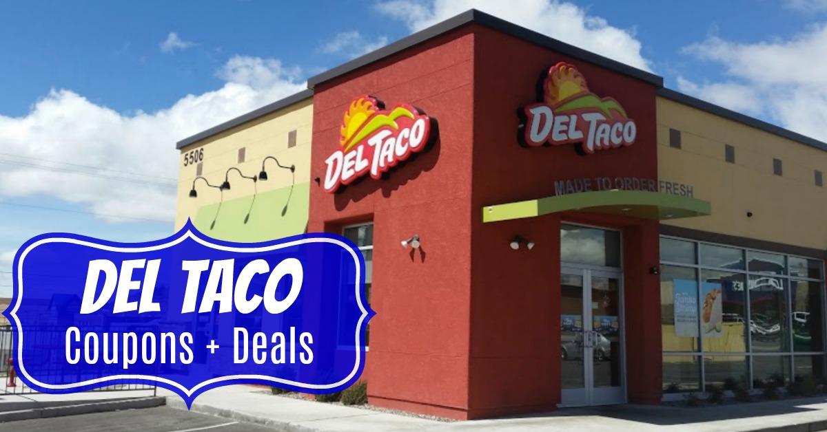 Del Taco coupons deals