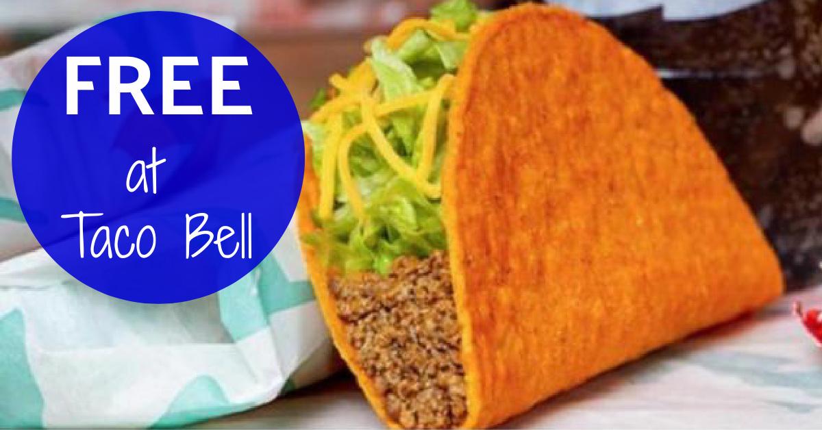 Taco Bell FREE Doritos Locos Taco 2020