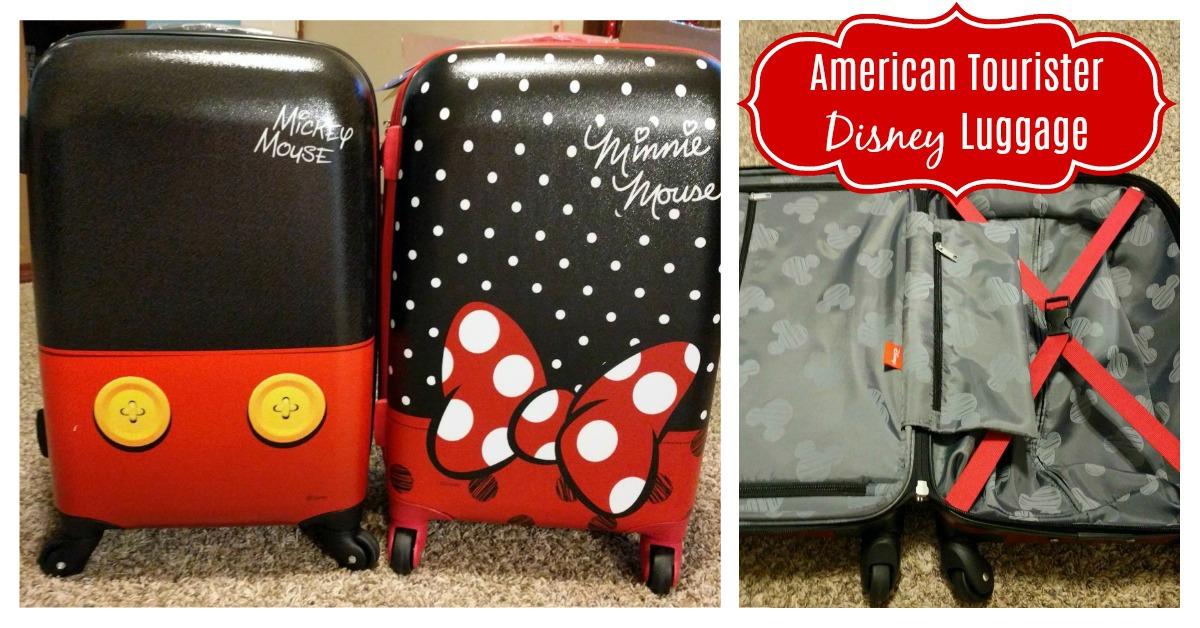 American Tourister Disney Luggage Set