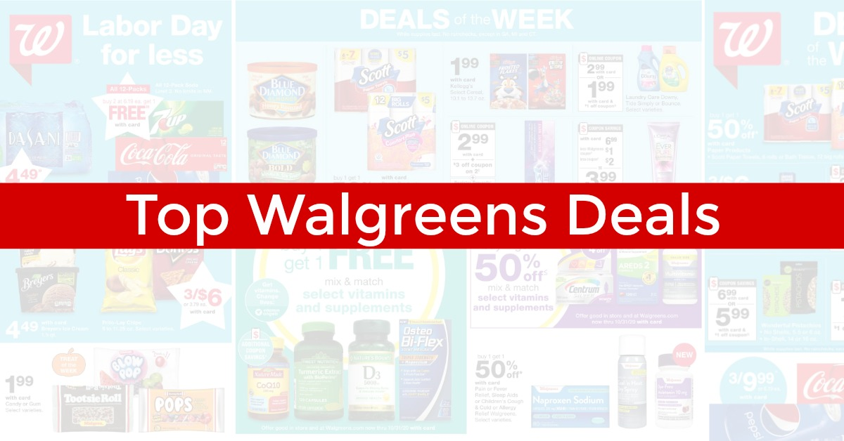 Top Walgreens Deals This Week 11 22 20 11 28 20
